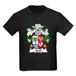 Adell Family Crest  Kids Dark T-Shirt