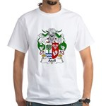Adell Family Crest White T-Shirt