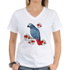 Cute African gray parrot Shirt