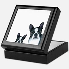 Dog 128 Boston Terrier Keepsake Box