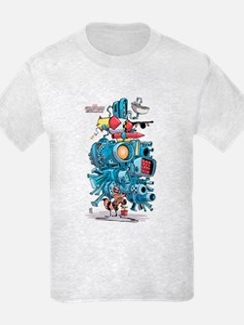 GOTG Rocket Drawing T-Shirt