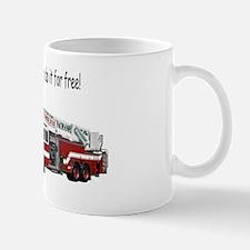Firemen Make House Calls Mug