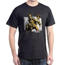 GOTG Rocket Groot Grunge T-Shirt