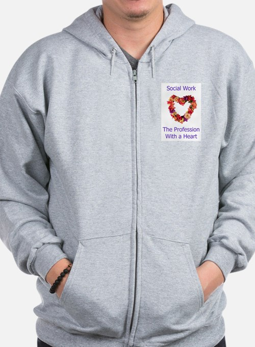Social Work Heart Sweatshirt