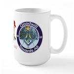Masonic Christmas 2007 Large Mug