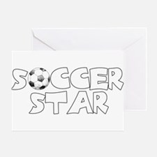 Soccer Star Greeting Cards