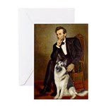 Lincoln's German Shepherd Greeting Card