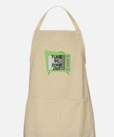 Tune In Zone Out Apron
