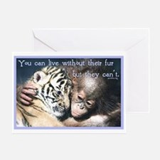 Live Without Greeting Card