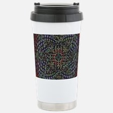 ABSTRACT ELEGANT RED EG Travel Mug