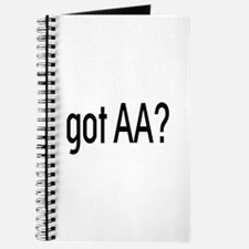 Got Aa? Journal With Symbol