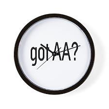 Got Aa? Wall Clock