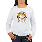Achalandabaso Family Crest  Women's Long Sleeve T-