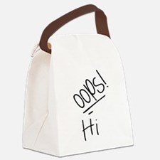 Hi - (Louis Tomlinson Tattoo) Canvas Lunch Bag