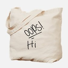 Hi - (Louis Tomlinson Tattoo) Tote Bag