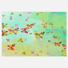 Butterflies on springtime