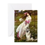Windflowers / G-Shep Greeting Card