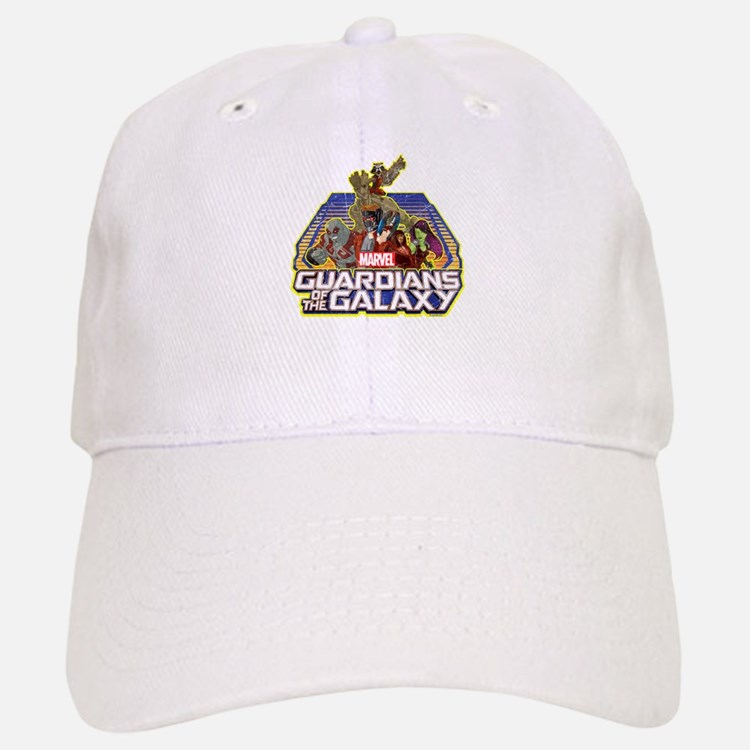 GOTG Team Retro Distressed Baseball Baseball Cap