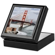 GoldenGateBridge20150811 Keepsake Box