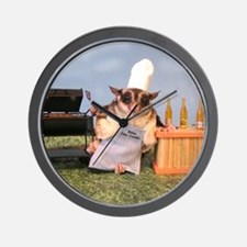 Cookout Wall Clock