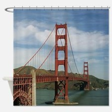 GoldenGateBridge20150804 Shower Curtain