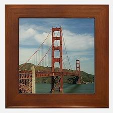 GoldenGateBridge20150804 Framed Tile