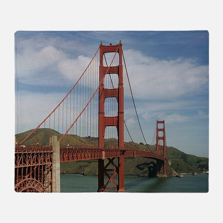 GoldenGateBridge20150804 Throw Blanket