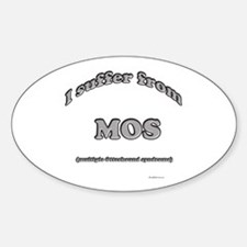 Otterhound Syndrome Oval Decal