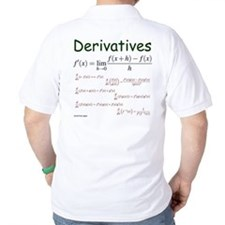 Derivative Formulas T-Shirt