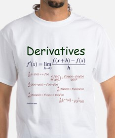 Derivative Formulas Shirt