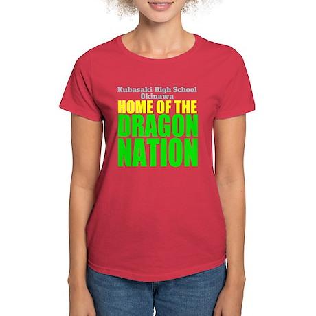 Dragon Nation Big Women's Dark T-Shirt