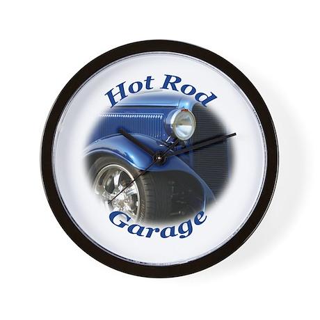 Hot Rod Garage Wall Clock
