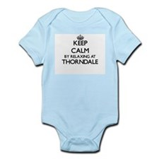 Keep calm by relaxing at Thorndale Illin Body Suit