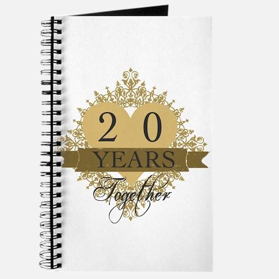 20th Wedding Anniversary Journal