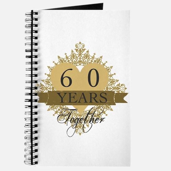 60th Wedding Anniversary Journal