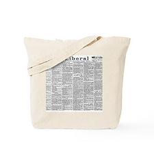News Tote Bag