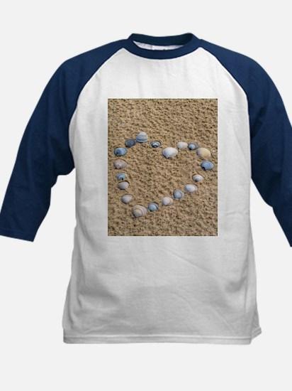 Seashell heart Baseball Jersey