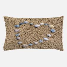 Seashell heart Pillow Case