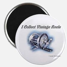 """I Collect Vintage Reels 2.25"""" Magnet (10 pack)"""