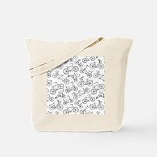 Bicycle Mania Tote Bag