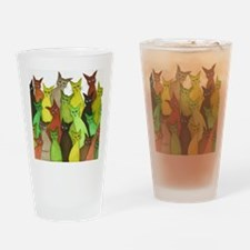 many vermont stray cats Drinking Glass