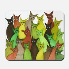 many vermont stray cats.jpg Mousepad