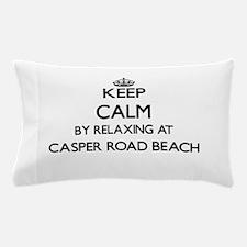 Keep calm by relaxing at Casper Road B Pillow Case