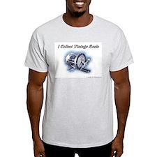 I Collect Vintage Reels Ash Grey T-Shirt