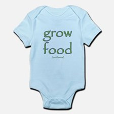 Grow Food Not Lawns Infant Bodysuit