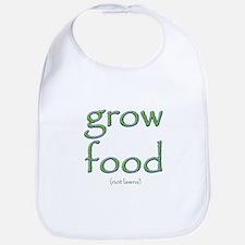 Grow Food Not Lawns Bib