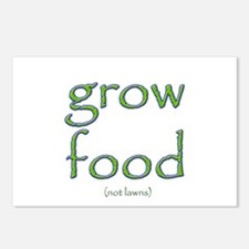 Grow Food Not Lawns Postcards (Package of 8)