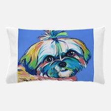 Cute Shih tzu art Pillow Case