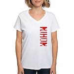 Nihon Women's V-Neck T-Shirt