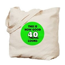 40th Birthday - Happy Birthda Tote Bag